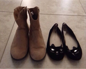 Girls Size 4 boots and shoes $10 each London Ontario image 1