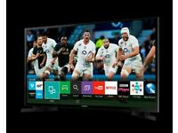 "Samsung 48"" tv smart wifi HD Freeview USB player ."
