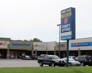 805 to 1,025 sq. ft. Retail Space Available