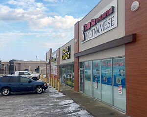3,600 ± sf Retail Space Available In Busy Gaetz Plaza