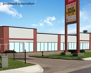 1,000 to 6,900 ± sf Retail Space Available In Busy Gaetz Plaza