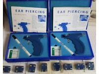 2x Caflon ear piercing kits