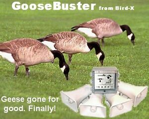 Goose Repeller Bird-x Goose Buster Electronic **BRAND NEW**
