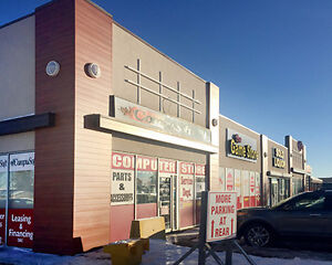 Retail Space available on Gaetz Avenue