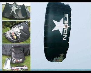 7m Nobile NHP 666 Kite with bar and lines.