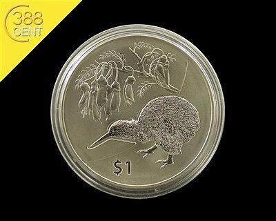 Neuseeland Kiwi Treasures Kowhai Flower 1 Unze oz Silber 2012 BU Kapsel online kaufen
