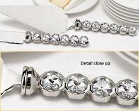 Wedding Toasting Champagne Flutes & Cake Knife/Server Set