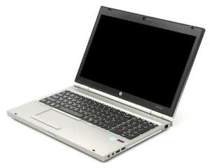 HP Elitebook 8570P-Core I7 Quad 2.2Ghz/16Go/240Go SSD ecran 15""