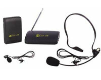 Kit micro sans fil NEUVE -  NEW wireless microphone kit