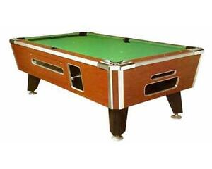 Valley Pool Table EBay - Valley coin operated pool table