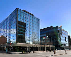 Office Space for Lease in  Saskatoon's Central Business District