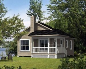 $ 42,000 NEWLY BUILT EXTERIOR PACKAGE COTTAGE ON YOUR LOT