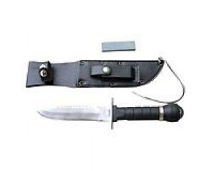 Yukon Gear survival knife with sheath, compass, sharpening stone Kitchener / Waterloo Kitchener Area image 4