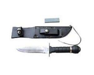 Yukon Gear survival knife with sheath, compass, sharpening stone Kitchener / Waterloo Kitchener Area image 4
