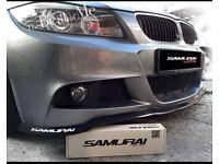 Universal Front Bumper Splitter Spoiler Bmw Mercedes Audi Ford Honda VW Seat Vauxhall Astra SRI Leon
