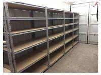 Shelving bay 3 levels 2400x1500x600+folding platform & 4-step ladder FOR FREE