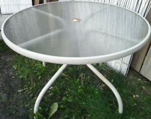 """The """"Patio Dining Table"""" & """"Folding  Chair"""" for sale"""