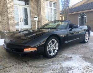 2004 Chevrolet Corvette Convertible Triple Black Coupe (2 door)