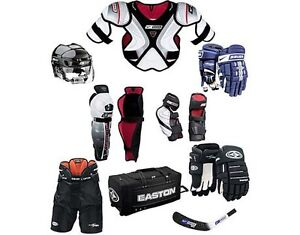 Hockey gear in consignment