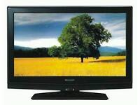 "SHARP 32"" LCD TV FULL HD BUILT IN FREEVIEW EXCELLENT CONDITION REMOTE CONTROL HDMI FULLY WORKING"