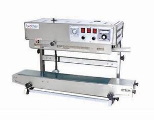 Continuous Sealer Model (FRD1000LW) - Printing Packing Machine