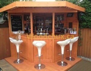 ♥‿♥ ... CORNER PATIO & GARDEN BAR - Pre Cut Kit ... ♥‿♥