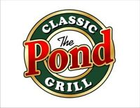 Cook Needed at Pond Classic Grill