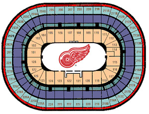 Detroit Red Wings Olympia Club Passes ALL Games $25