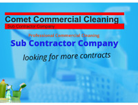 Comet Commercial Cleaning Sub Contractor Company