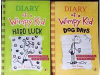 Diary of a wimpy kid Dog Days & Hard Luck