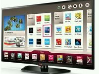 "LG 47"" LED smart wifi tv builtin USB media player HD freeview fullhd 1080p"