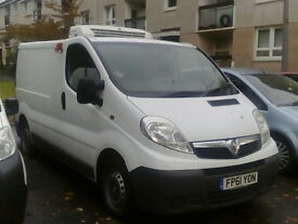 Van Hire (Thermo controlled) with driver for deliveries around the UK and EU