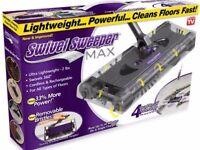Swivel Carpet Floor Sweeper Max Cordless Rechargeable Dirt Cleaner Vacuum Brush