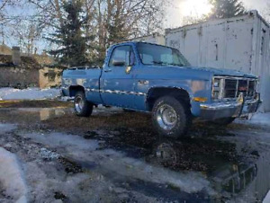 1989 Chev 4X4 Step Side Entertaining offers over $2500 00