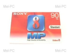 SONY-P5-90MP3-STANDARD-90MINS-VIDEO-8-CAMERA-TAPE-NEW