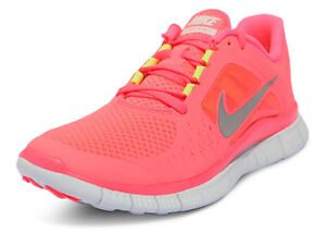 Nike-WMNS-Free-Run-3-Hot-Punch-Silver-510643-600-Sz-6-5-10