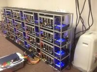 Crypto Ethereum Bitcoin Mining Rig Investment Investor