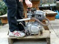 Honda xl 185 complete engine