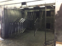 Paint Booth and Equipment