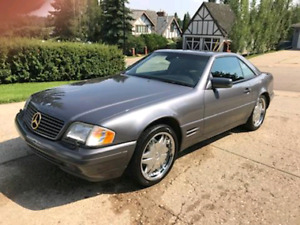 ONE OWNER 1997 MERCEDES BENZ SL 500, LOWEST KMS IN CANADA!!!!!!