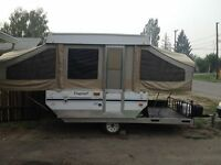 Toy Hauler Tent Trailer