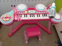 ELC Piano Keyboard Pink