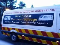 All damaged damp or unwanted touring caravans wanted for cash