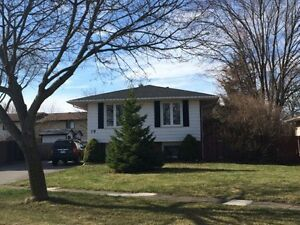 Beautiful North Welland location. ALL INCLUSIVE house for rent