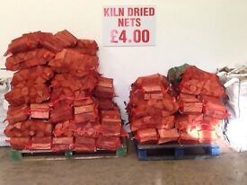 Kiln dried nets £4.00 free delivery in ten miles