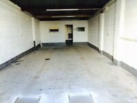 WORKSHOP/GARAGE/STORAGE TO LET WITH PARKING