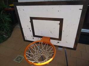 Basketball Hoop, Net and Backboard Denistone East Ryde Area Preview