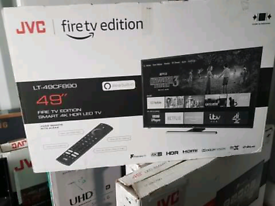 T V 49INCH BRAND NEW MODEL 2020 4K ULTRA HD HDR BUILT IN VOICE CONTROL