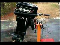 Mercury 25hp outboard