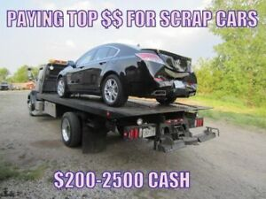 PAYING CASH FOR UNWANTED VEHICLES! CALL 905-512-0805